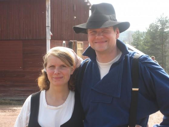 Hanna Hansson och Klas Eriksson