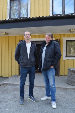Projektledare för Come Together Stallarholmen: Peter Ceder (till vänster) och Bosse Lindholm(höger).