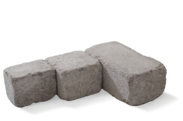 Vi på Torups Byggshop erbjuder produkter som block,  marksten, plattor och stödmurar mm.  Foto: St: Eriks