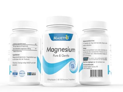 Magnesium Pure & Gentle (120 veg kapslar)