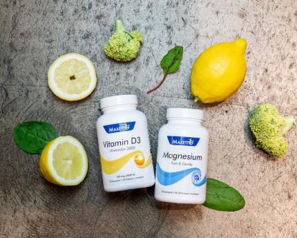 Magnesium + D-Vitamin 2000 ie