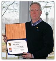 2012-04-13 Utdelning av Paul Harris Fellow till Bengt Husberg