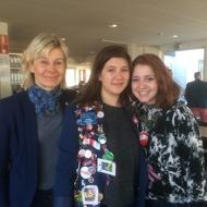 2015-03-13 Utbytesstudent - Amelia Blakely o Naomi Oppenheim