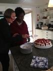Tårta hos Lena