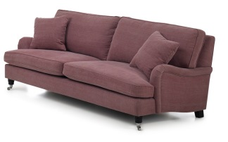 MR HOWARD - MR HOWARD 3-sits 214x113 cm  Kiss 39 Winered /410/10