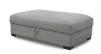 ORLANDO - Lounge pall 12Ox72 cm m förvaring Kiss 65 grey
