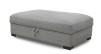 TAMPA - Lounge pall m förvaring 120x72 cm Kiss grey 65