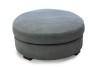 TAMPA - Lounge pall rund 90 cm Kiss Grey 65