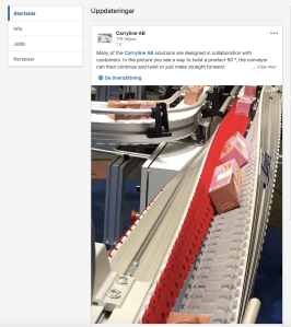 carryline conveyors spirals automation on Linkedin