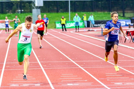 Stafett 4*100 meter - 2:a - 43.26