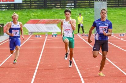 André Barroso Johansson - 100 meter - 8:a - 11.56