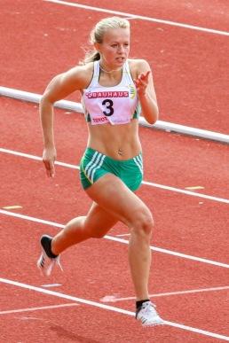 Beata Edelholm - 200 meter -  4:a - 26.21