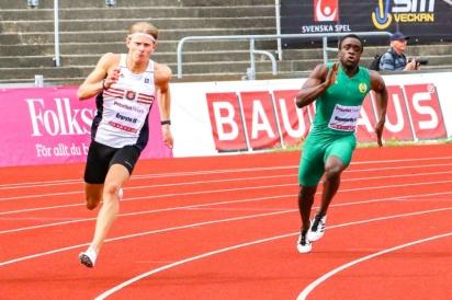 Desmond Rogo - 200 m - 4:a - 21,74