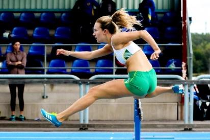 Josefine Sandelius - 100 häck - 1:a - 14,59