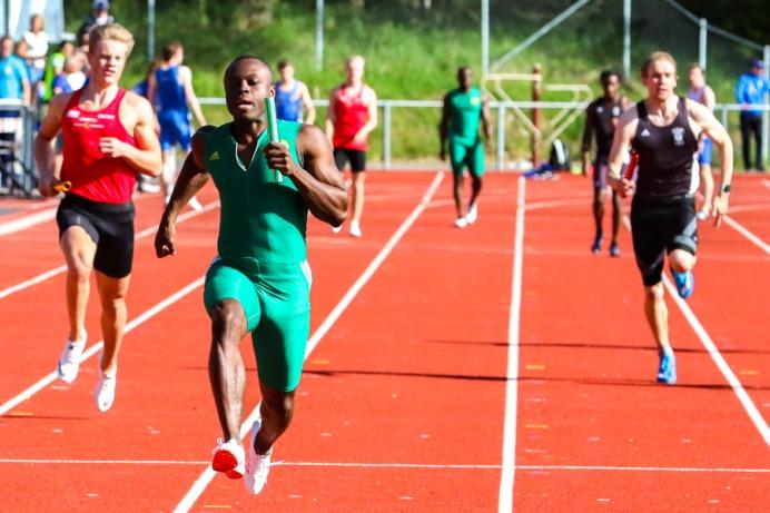 4*100 meter - Amir Shaker - Dennis Oyieno - Desmond Rogo - Tony Darkwah - 1:a - 41,51