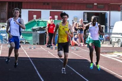 Emmanuel Dawlson 100 meter