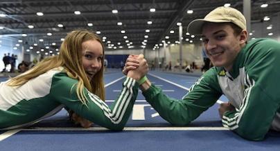Stina Gustavsson och Daniel Simic Rihtnesberg