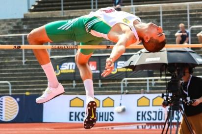 Mehdi Katib - höjd - 5:a - 1.92