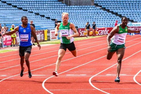 Emmanuel Dawlson - 100 m - 1:a - 10,51 w
