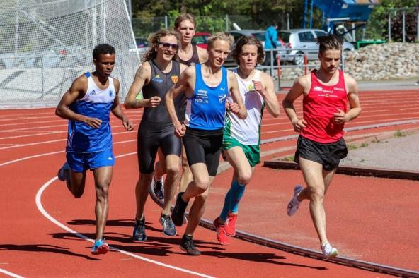 Mikkel Knif - 5000 meter - 6:a - 16.10,20