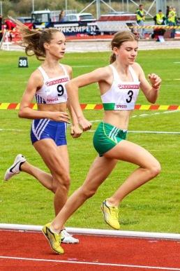 Nora Lundin - 800 meter - 2:a - 2:16.98