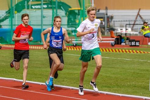 Tobias Pettersson - 3000 meter - 7:a - 10:15.16