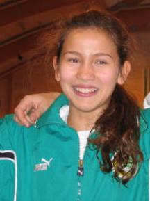 Jasmin Sabir i Sätrahallen år 2004