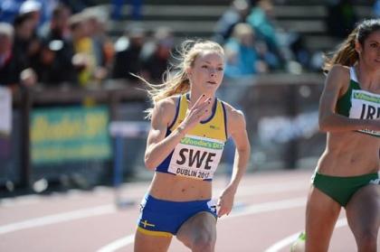 Sofia Hellberg-Jonsén, 4x400m-stafett