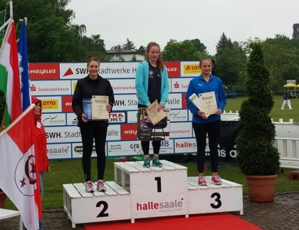 Grete Ahlberg bronstagare i Tyskland