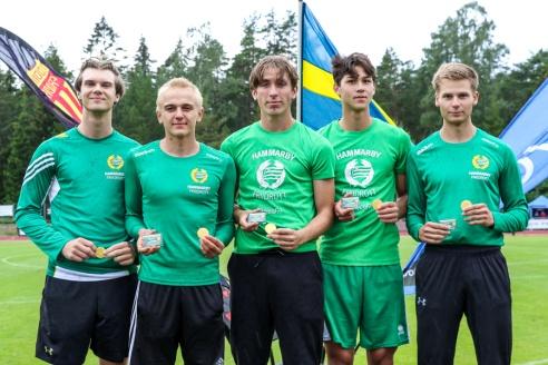 Arvid Wändesjö - Jonatan Borg - Viktor Wall - David Thid - Markus Moberg