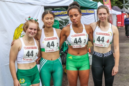 Linnéa Lindefalk - Molly Freeman - Alicia Löwhagen - Fredrika Pettersson