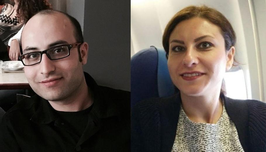Milad Resaeimanesh och Nastaran Goodarzi. Foto: Privat.