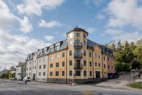 Brf Sparven i Norrtälje. Foto: Arkitekturupproret.
