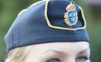 Fredrik Sandberg/TT I dag tar det 30 veckor från inlämnad ansökan till antagningsbesked till polisutbildningen. Detta ska pressas ned till en eller ett par månader. Arkivbild.