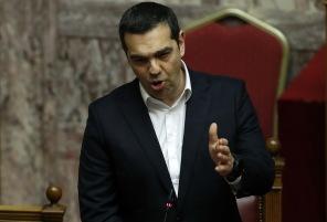 Thanassis Stavrakis/AP/TT Greklands premiärminister Alexis Tsipras. Arkivbild.