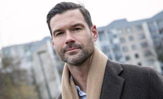 Johan Nilsson/TT Moderaternas rättspolitiska talesperson Johan Forssell. Arkivbild.