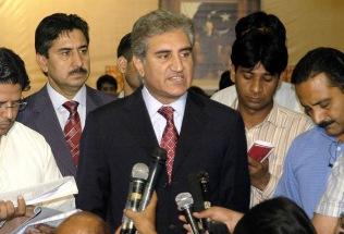 AP/TT Pakistans utrikesminister Shah Mahmood Qureshi. Arkivbild.
