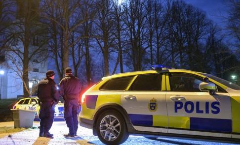Johan Nilsson/TT Polisen misstänker grovt brott i Karlskrona kommun. Arkivbild.