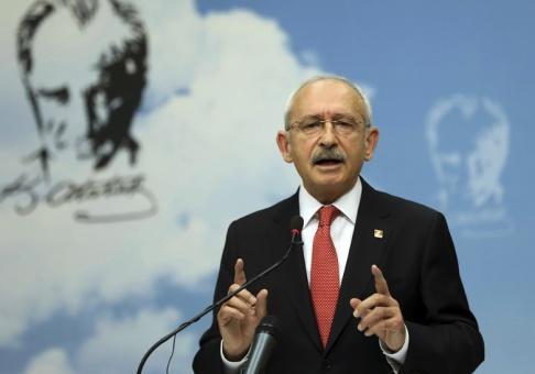 AP/TT Kemal Kilicdaroglu, ledare för det turkiska oppositionspartiet CHP. Arkivbild.
