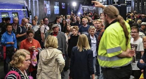 Johan Nilsson/TT Under senare år har tågresenärer i Sverige plågats svårt av störningar i trafiken. Arkivbild.