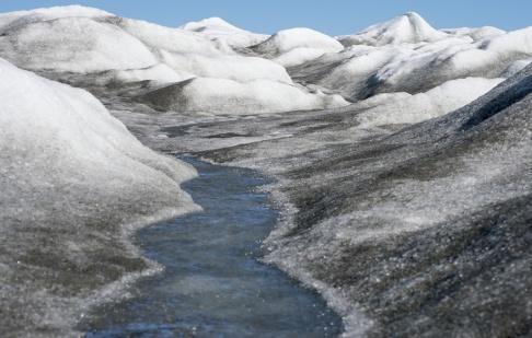 Lars Pehrson/SvD/TT Glaciäris på Grönland. Arkivbild.