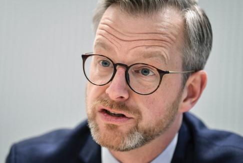 Anders Wiklund/TT Inrikesminister Mikael Damberg (S). Arkivbild.