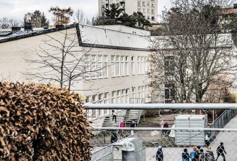 Tomas Oneborg/SvD/TT Al-Azhar, muslimsk friskola i västra Stockholm. Arkivbild.