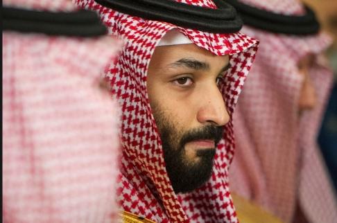 Cliff Owen/AP/TT Saudiarabiens de facto ledare prins Mohammed bin Salman. Arkivbild.