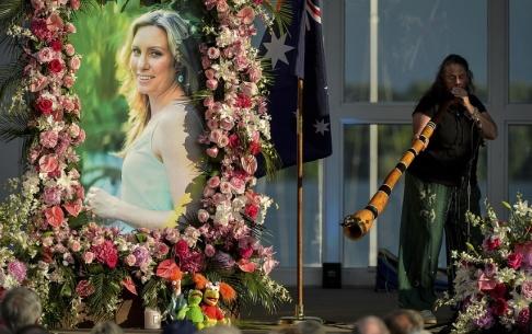 Aaron Lavinsky/AP/TT 40-åriga Justine Damond dödades bara en månad före sitt planerade bröllop. Arkivbild.