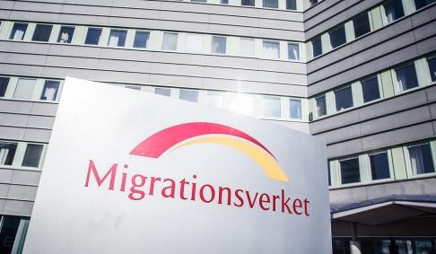 Adam Wrafter/SvD/TT Migrationsverket står fast vid sin tidigare prognos för antalet asylsökande i Sverige. Arkivbild.