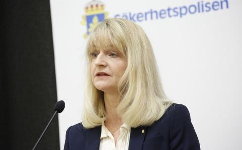Christine Olsson/TT Charlotte von Essen, biträdande chef för Säkerhetspolisen. Arkivbild.