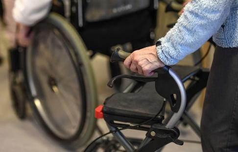 Pontus Lundahl/TT I Vellinge och i Borås planeras det för en ny form av boende för demenssjuka. Arkivbild.