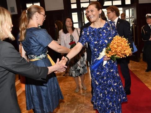 Jonas Ekströmer/TT Kronprinsessparet besöker Vietnam tillsammans med representanter för svenskt näringsliv.