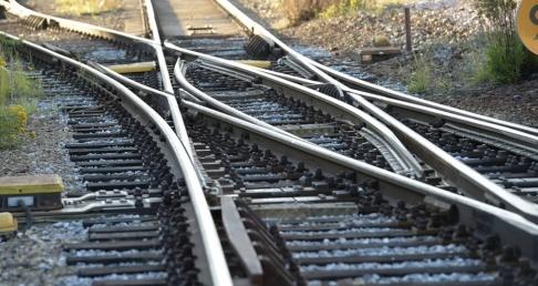 Fredrik Sandberg/TT Ett växelfel orsakar förseningar i tågtrafiken. Arkivbild.